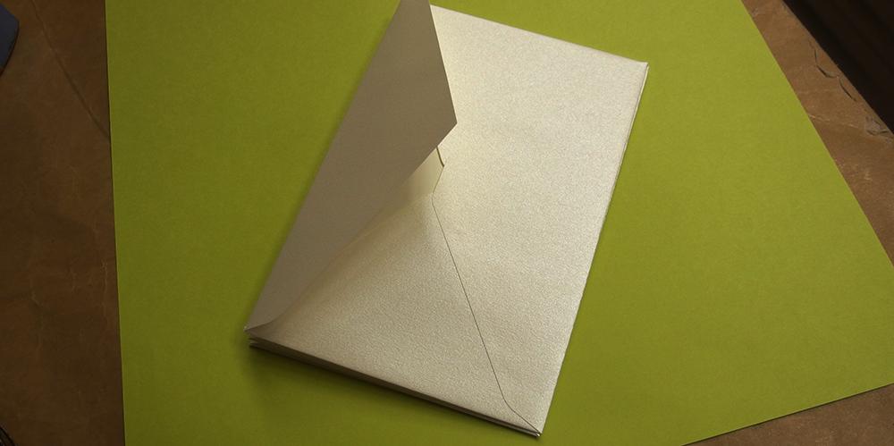 インクをはじく洋封筒への宛名印刷(対応事例)
